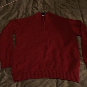 Boys' 1/4 Zip Tommy Hilfiger Sweater